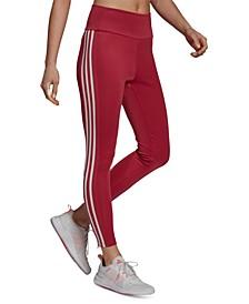 Women's 3-Stripe High-Waist Full Length Training Leggings
