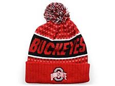 Ohio State Buckeyes Expanse Cuffed Pom Knit