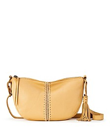 Silverlake Leather Crescent Crossbody