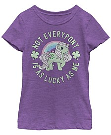 Big Girls My Little Pony Lucky Pony Short Sleeve T-shirt