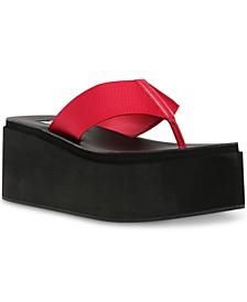 Women's Better Platform Wedge Flip-Flop Sandals