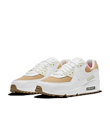 Men's Air Max 90 Burlap Casual Sneakers from Finish Line
