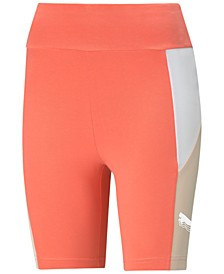 Rebel Colorblocked High-Rise Bike Shorts