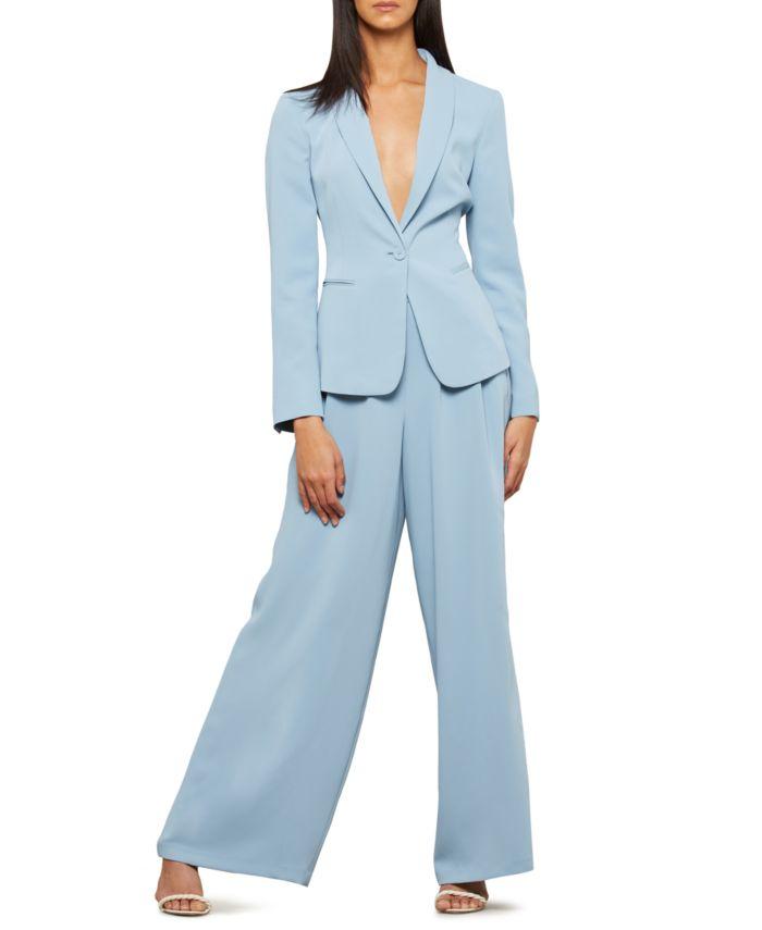 BCBGMAXAZRIA Button-Front Twill Jacket & Reviews - Jackets & Blazers - Women - Macy's