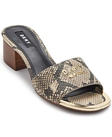 Fama Logo Dress Sandals