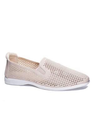 Women's Captain Comfort Fitting Flat Slip-On Loafers Women's Shoes