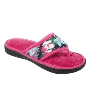 Women's Petunia Floral Thong Slipper