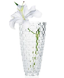 "Mikasa Palazzo Crystal Vase 12"""