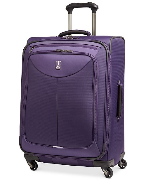 """Travelpro CLOSEOUT! 65% OFF WalkAbout 2 25"""" Expandable Spinner Upright (Created for Macy's)"""