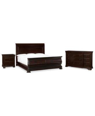 Heathridge 3 Piece Queen Bedroom Set, Created for Macy's,  with Dresser