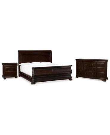 heathridge 3 piece queen bedroom set with dresser