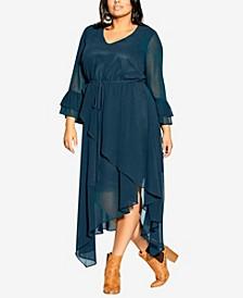 Plus Size Hidden Treasure Maxi Dress