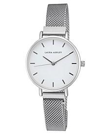 Women's Silver-Tone Alloy Sleek Magnet Bracelet Watch 33mm