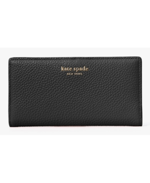 Kate Spade KATE SPADE NEW YORK ROULETTE SLIM BIFOLD LEATHER WALLET