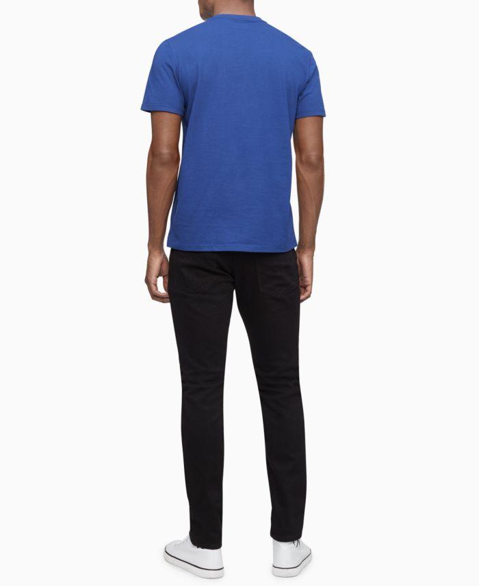 Calvin Klein Men's Diagonal Box Logo T-Shirt  & Reviews - T-Shirts - Men - Macy's