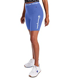 Women's Logo-Print Bike Shorts