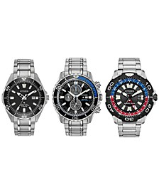 Eco-Drive Men's Promaster Diver Watch Collection