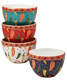 Fiesta Set of 4 Ice Cream Bowl