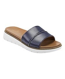 Women's Aubree Slip-on Platform Slide Sandals