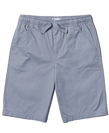 Big Boys Drawstring Waist Twill Shorts