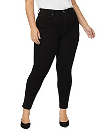 Plus Size Everyday Knit Denim Jeans