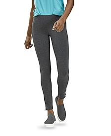 Women's Cotton Leggings with Side Slits