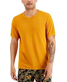 Men's Open Knit Mesh T-Shirt, Created for Macy's