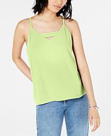Zip-Back Halter Top, Created for Macy's