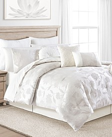 White Garden 14-Pc. Comforter Sets, Created for Macy's