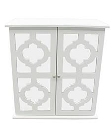 Modern Mirrored Door Jewelry Box