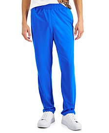 Men's Regular-Fit Solid Track Pants, Created for Macy's