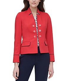 Open-Front Band Jacket
