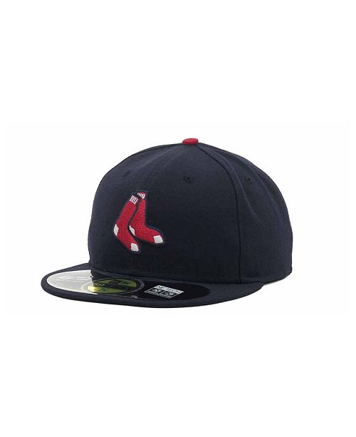 89c8e481822 New Era Boston Red Sox Authentic Collection 59FIFTY Hat - Sports Fan ...