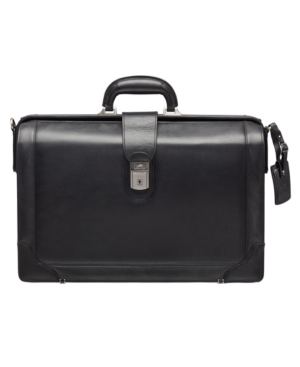 """Beverly Hills Collection Men's Litigator Briefcase with Rfid Secure Pocket for 17.3"""" Laptop"""