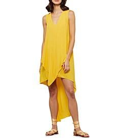 Asymmetric High-Low Sleeveless Dress