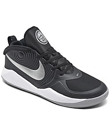 Boys Team Hustle D 9 Basketball Sneakers from Finish Line