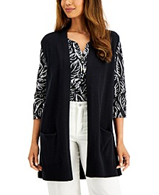 Solid Duster Vest, Created for Macy's