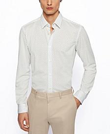 BOSS Men's Recycled Slim-Fit Shirt