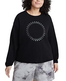 Plus Size Icon Clash Sweatshirt