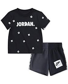 Baby Boys 2-Pc. 23 T-Shirt & Shorts Set