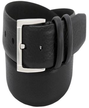 Men's Italian Leather Dress Belt