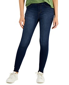 Dark Wash Jeggings, Created for Macy's