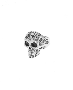 Men's Laughing Skull with Moveable Jaw Ring
