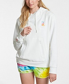 Women's French Terry Hoodie with Mask