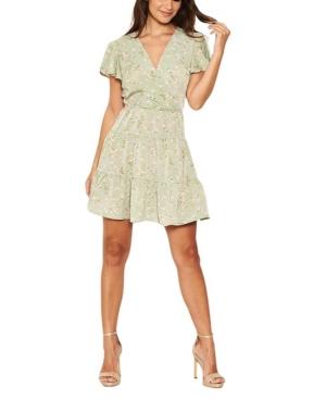 Women's Ditsy Print Summer Dress