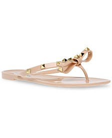 Women's Daliyah Studded Bow Jelly Sandals
