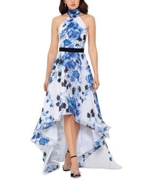 High-Low Halter Dress
