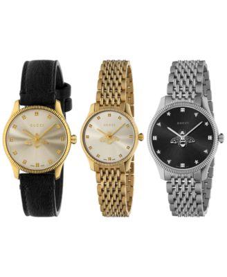 Women's Swiss G-Timeless Slim Stainless Steel Bracelet Watch 36mm
