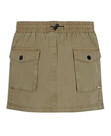 Big Girls Pull-On Utility Skirt