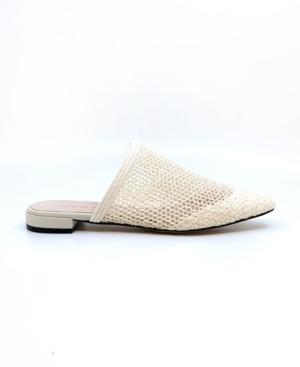 Women's Peep Toe Woven Slides Women's Shoes